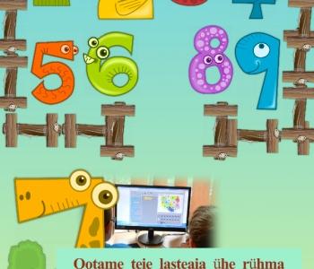 Lasteaed Päikene õpiõue tegevused piirkonna lasteaedadele
